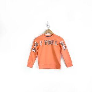 NWT H&M Kids Made You Look Sweatshirt